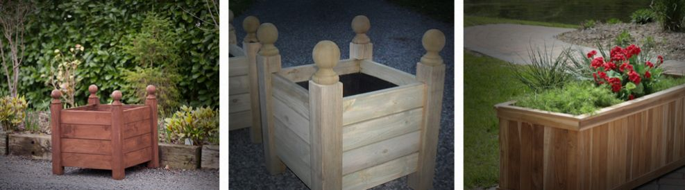 Various sized Planters